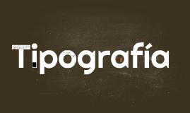 Tipografia, tipos y definiciones