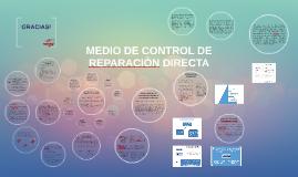 MEDIO DE CONTROL DE REPARACION DIRECTA