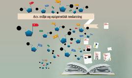 Arv, miljø og epigenetisk nedarving