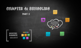 Chapter 4: Schooling