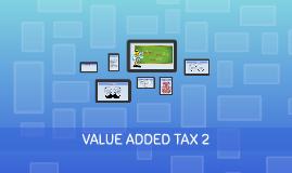 Taxation 2 - Value Added Tax 2 (LP3i)