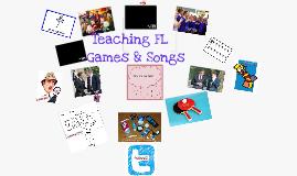 PGCE 1: Teaching Languages through Games & Songs