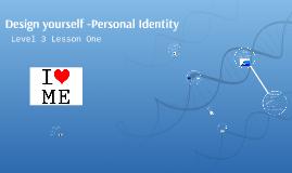 Level 3 Personal Identity