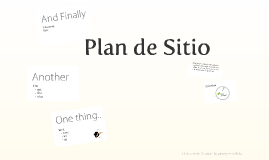 Plan de Sitio de Ballestas
