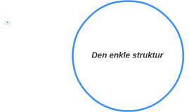 Den enkle struktur