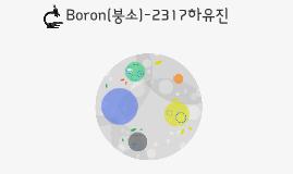 B(붕소)-2317하유진