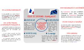 Être et devenir Français