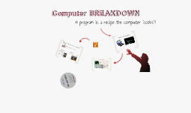 Computer Breakdown for #HackTheUniverse