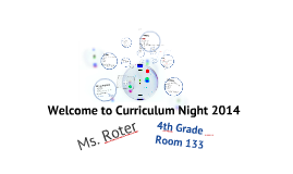 Copy of Curriculum Night 2012