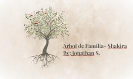 Copy of Shakira-Family Tree