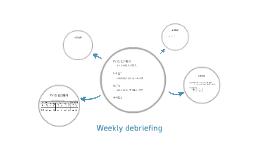 Weekly debriefing
