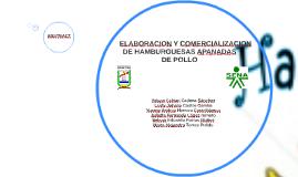 ELABORACION Y COMERCIALIZACION  DE HAMBURGUESAS APANADAS DE