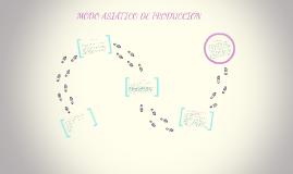 MODO ASIÁTICO DE PRODUCCIÓN