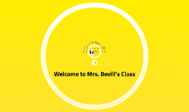 Welcome to Mrs. Bevill's Team