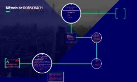 Método de RORSCHACH
