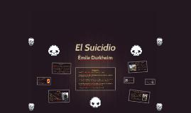 Émile Durkheim - El suicidio