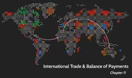 International Trade & Balance of Payments