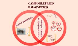 CAMPO ELÉTRICO E MAGNÉTICIO