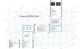Proyecto UNIM 2014