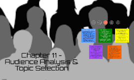 Chapter 11 - Audience Analysis & Topic Selection