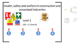 Health, safety and welfare in construction and associated in