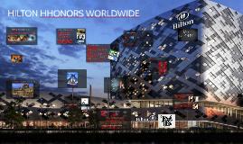 Hilton Hhonors Worldwide Loyalty wars