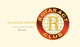 Resumo - Secretaria Distrital - Rotaract