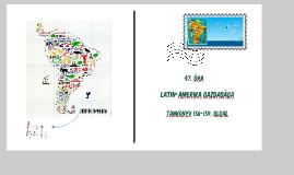Latin-Amerika természeti jellemzői és gazdasága