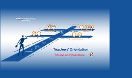 AMS Teachers' Orientation