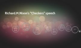 "Copy of Richard.M.Nixon's ""Checkers"" speech"