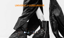 UNIVERSO Y CONSUMIDOR