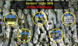 Parents' Night 2016 with Simon