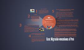 Caso Migración venezolanos al Perú