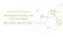 Biotecnología y desarrollo