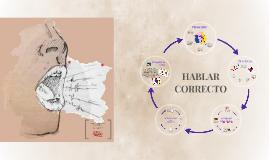 HABLAR CORRECTO