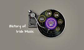 History of Irish Music
