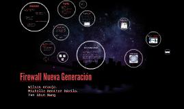 Firewalls Nueva Generación