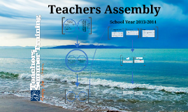 Assembly of teachers 13