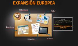 Copy of EXPANSIÓN EUROPEA
