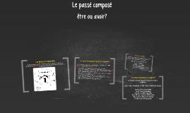 Copy of Le passé composé