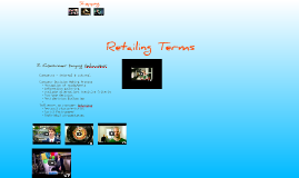 Copy of Retailing Terms