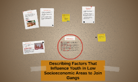 Examining the Factors That Influence Youth in Low Socio-Econ