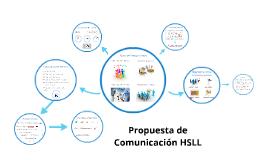 Propuesta de Comunicación HSLL