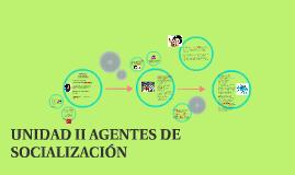 UNIDAD 2 AGENTES DE SOCIALIZACIÓN