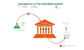 UUTALCA ¿Cómo gobiernan sus TI las universidades españolas?