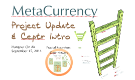 MetaCurrency Update & Ceptr Introduction