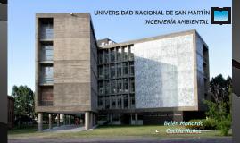 Copy of Copy of Presentación Ingeniería ambiental - UNIVERSIDAD NACIONAL DE SAN MARTÍN