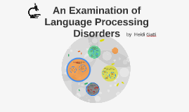 An Examination of Language Processing Disorders
