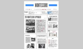 Copy of MONTESSORI APPROACH