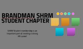 SHRM STUDENT